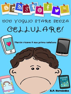 cover image of Non voglio stare senza cellulare!