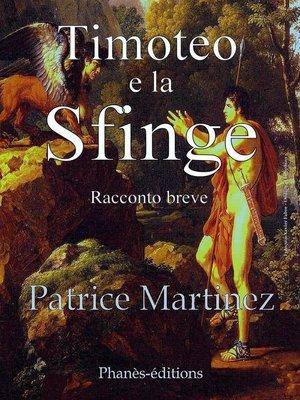 cover image of Timoteo e la Sfinge
