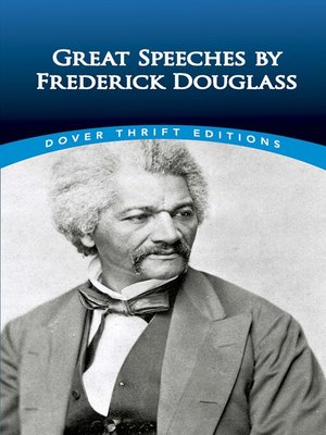 cover image of Great Speeches by Frederick Douglass