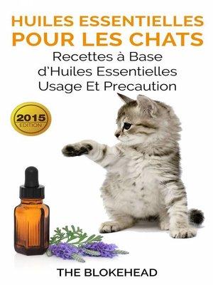 cover image of Huiles essentielles pour les chats