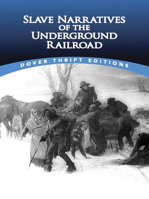 cover image of Slave Narratives of the Underground Railroad