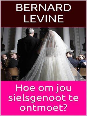 cover image of Hoe om jou sielsgenoot te ontmoet?