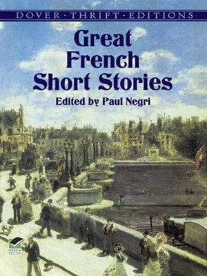cover image of Great French Short Stories