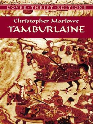 cover image of Tamburlaine