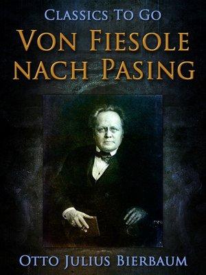 cover image of Von Fiesole nach Pasing
