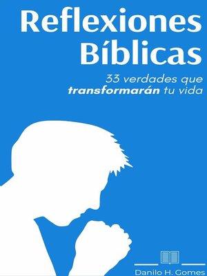 cover image of Reflexiones Bíblicas