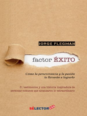 cover image of Factor éxito