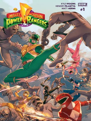 cover image of Mighty Morphin Power Rangers #1