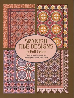 cover image of Spanish Tile Designs in Full Color