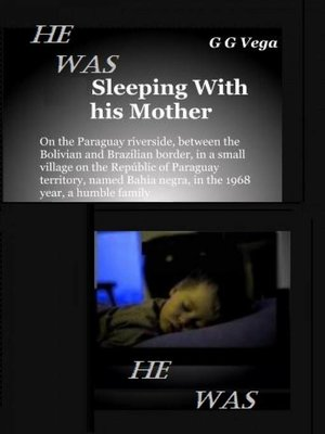 cover image of He was sleeping with his mother