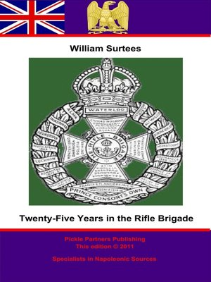 cover image of Twenty-Five Years in the Rifle Brigade