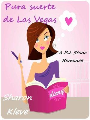 cover image of Pura suerte de Las Vegas