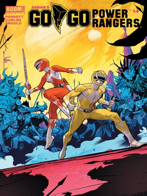 cover image of Saban's Go Go Power Rangers, Issue 14