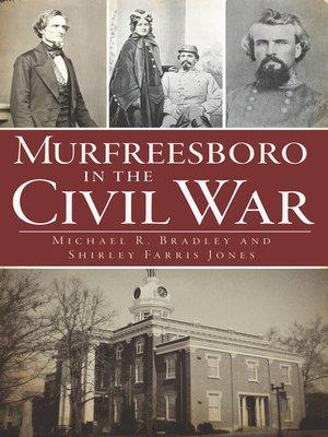 cover image of Murfreesboro in the Civil War