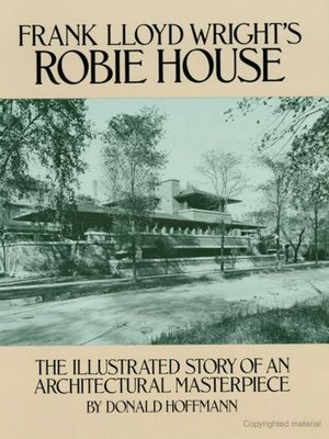 cover image of Frank Lloyd Wright's Robie House