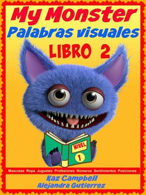 cover image of Mi Monstruo: Palabras Visuales