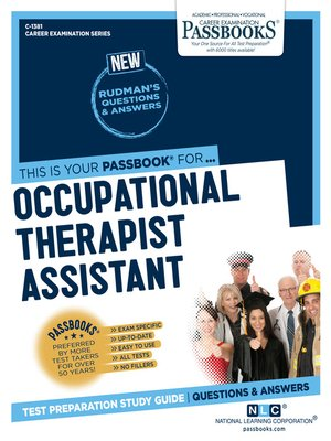 cover image of Occupational Therapist Assistant
