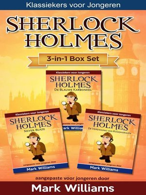 cover image of Sherlock voor Kinderen 3-in-1 Box Set door Mark Williams
