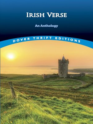 cover image of Irish Verse