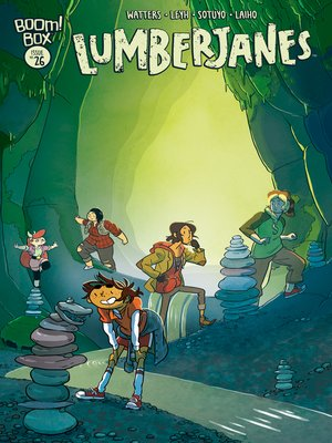 cover image of Lumberjanes #26