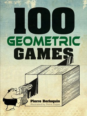 cover image of 100 Geometric Games