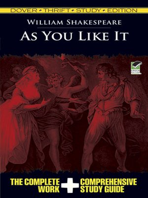 cover image of As You Like It Thrift Study Edition
