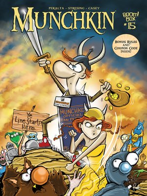 cover image of Munchkin (2015), Issue 15