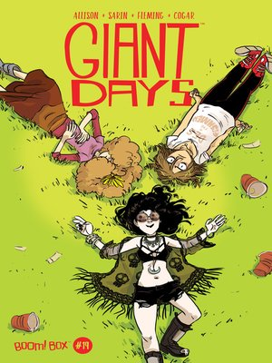 cover image of Giant Days (2015), Issue 19