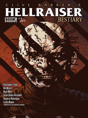 cover image of Clive Barker's Hellraiser: Bestiary (2014), Issue 2