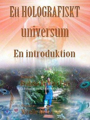 cover image of Ett holografiskt universum