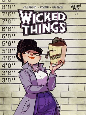 cover image of Wicked Things, Issue 1