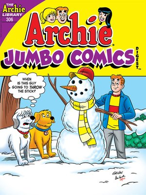 cover image of Archie Double Digest #306