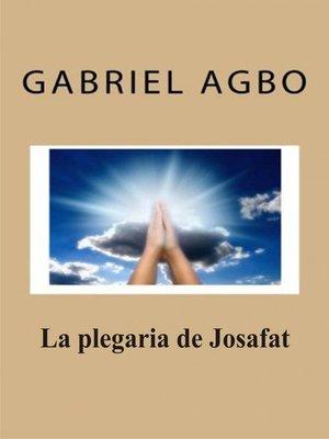 cover image of La plegaria de Josafat