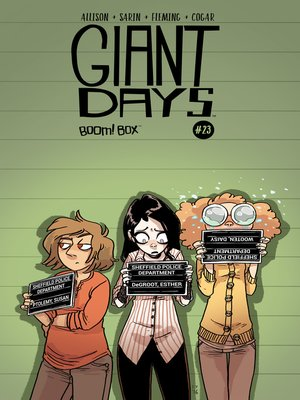cover image of Giant Days (2015), Issue 23
