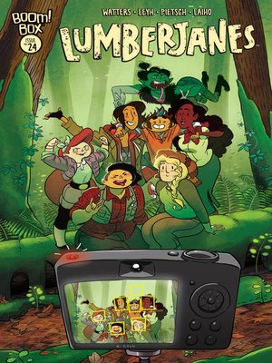 cover image of Lumberjanes #24