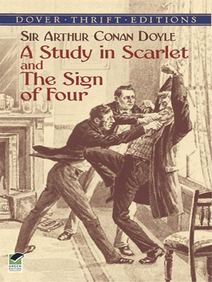 cover image of A Study in Scarlet and The Sign of Four