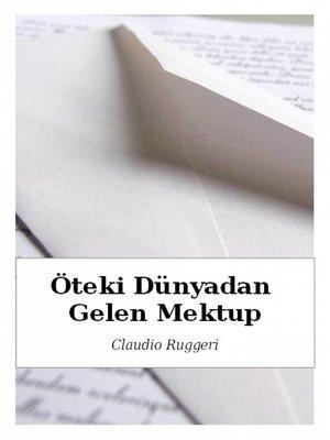 cover image of Öteki Dünyadan Gelen Mektup