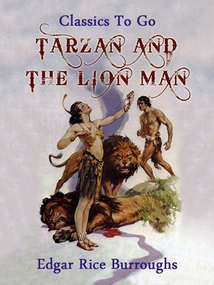 cover image of Tarzan and the Lion Man