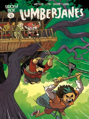 cover image of Lumberjanes, Issue 42