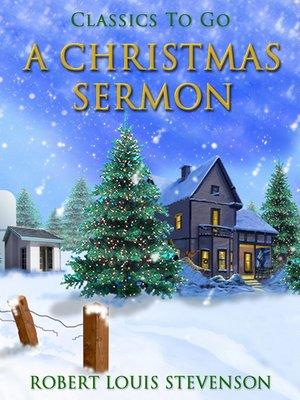 cover image of A Christmas Sermon