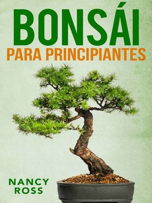 cover image of Bonsái para principiantes