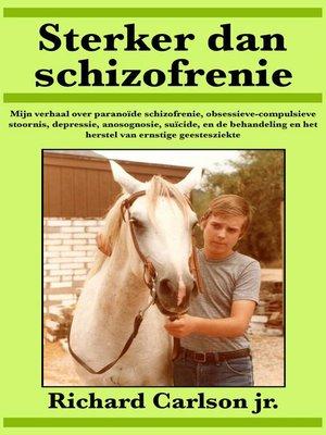cover image of Sterker dan schizofrenie