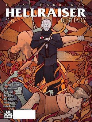cover image of Clive Barker's Hellraiser: Bestiary (2014), Issue 6