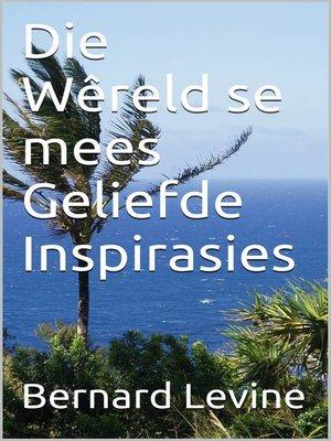 cover image of Die Wêreld se mees Geliefde Inspirasies