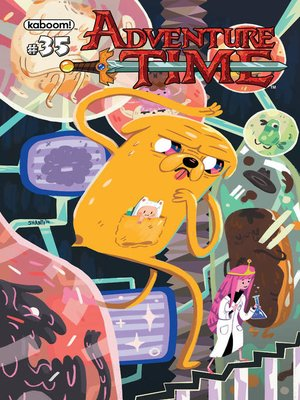 cover image of Adventure Time (2012), Issue 35