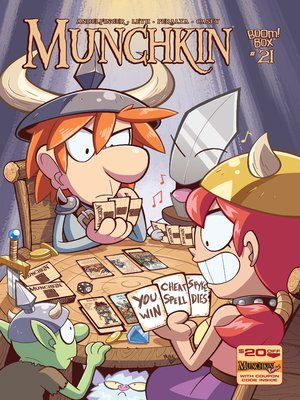 cover image of Munchkin (2015), Issue 21