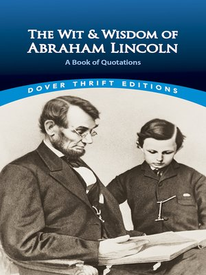 cover image of The Wit and Wisdom of Abraham Lincoln