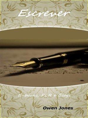 cover image of Escrever
