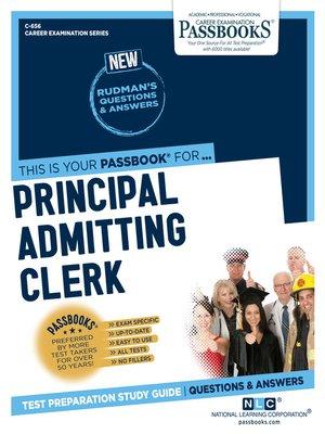 cover image of Principal Admitting Clerk