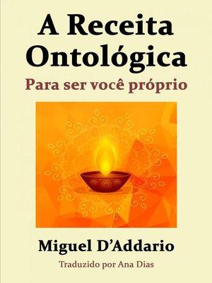 cover image of A Receita Ontológica